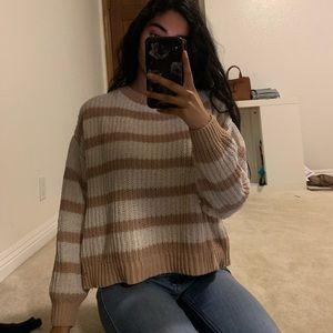 Tillys sweater bundle blue and tan